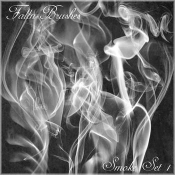 Smoke Brushes Set 1 by Falln-Brushes