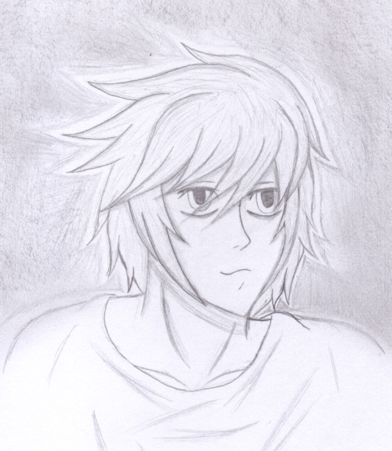 Beyond Birthday Sketch by kuramas-fox