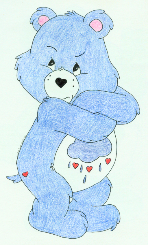 Grumpy Bear Version 4 by kuramas-fox