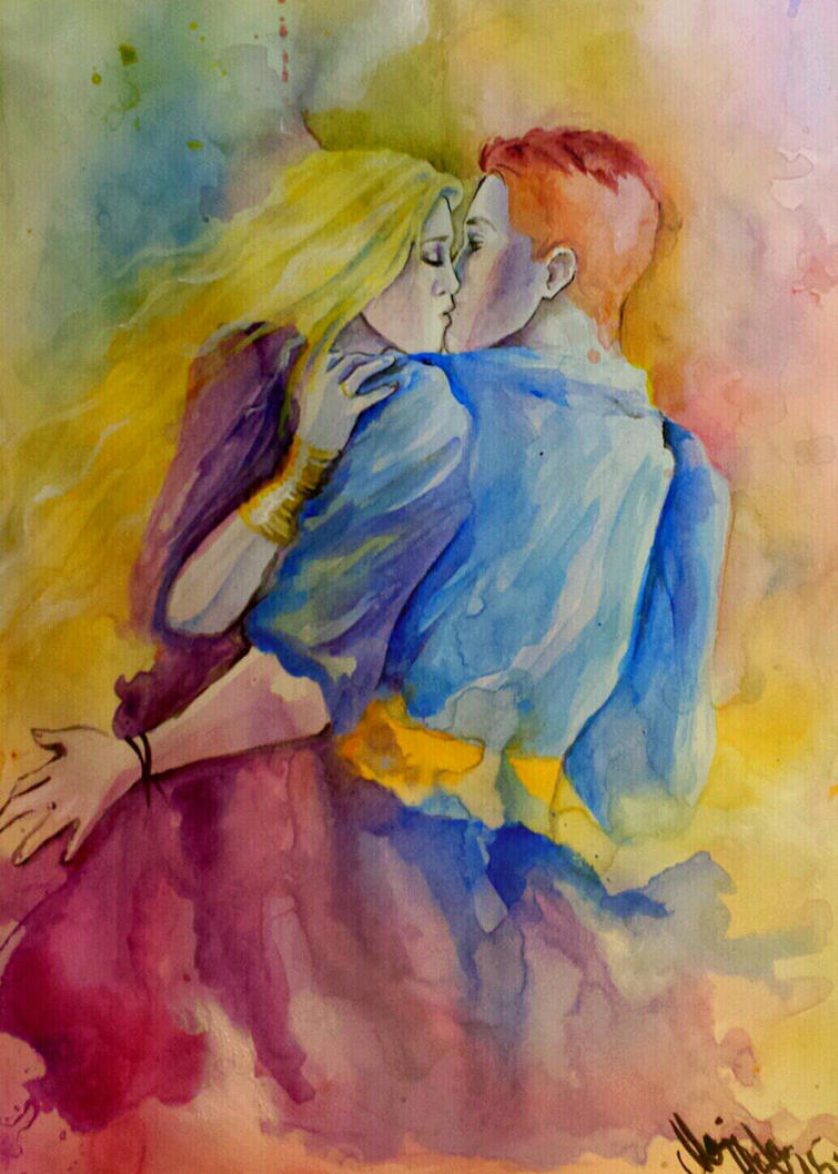 sudden kiss by mappeli