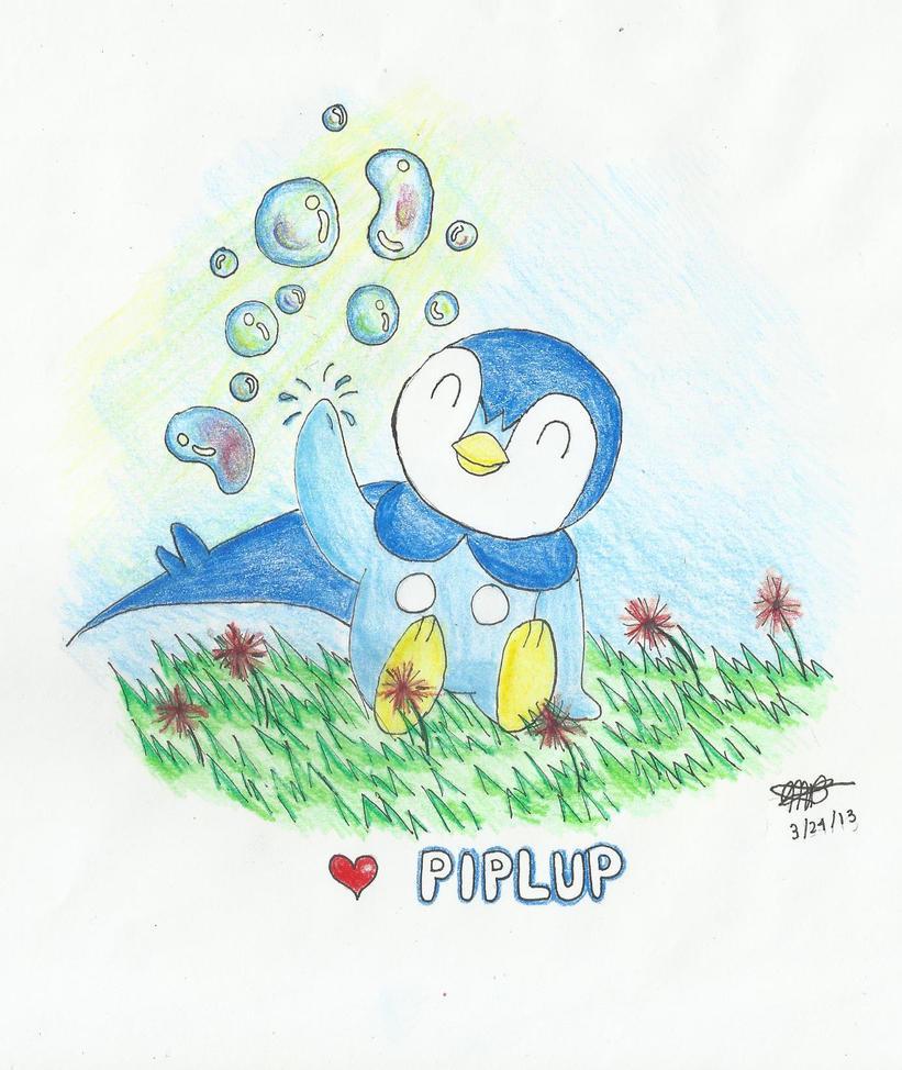 Piplup Love by meteorbender