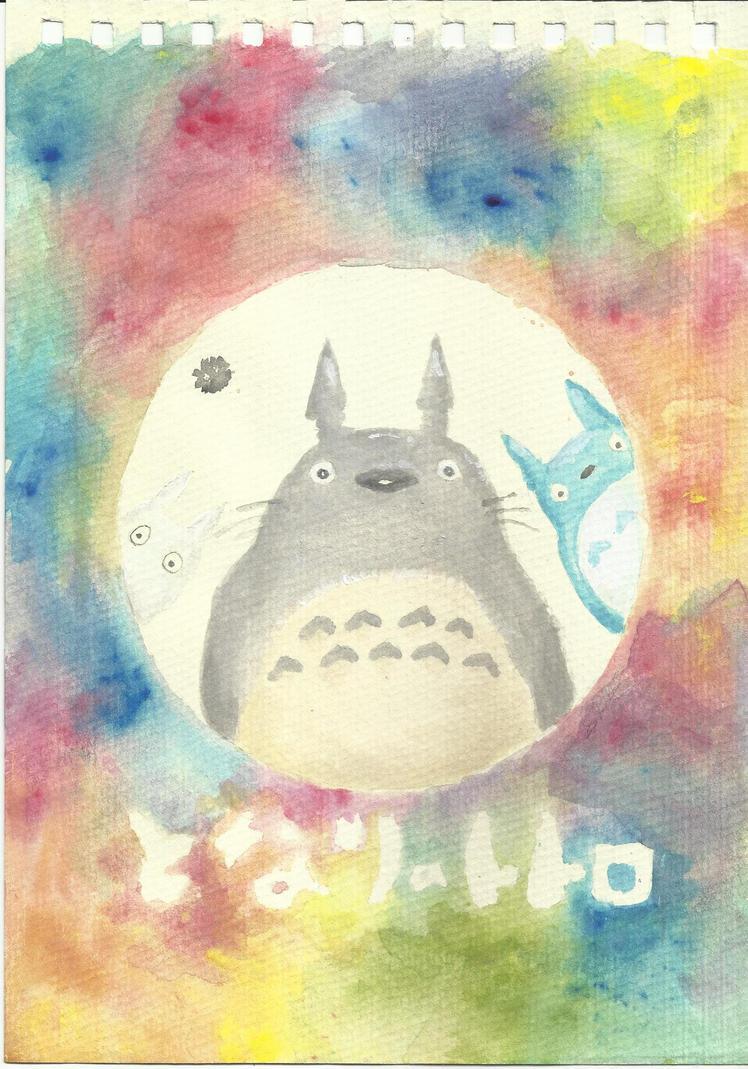 My Neighbor Totoro by meteorbender