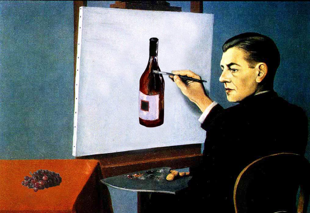 Préférence no hay como lo de uno: Magritte revisitado (22) VV66