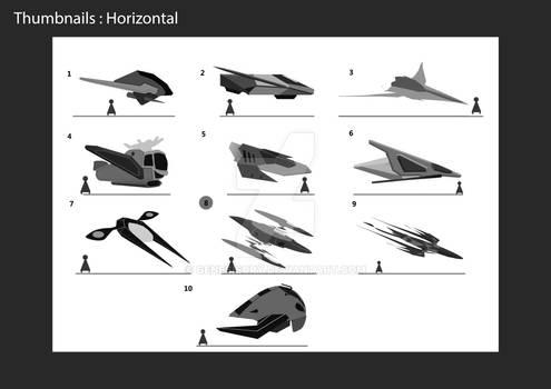 Spaceship thumbnails 1