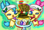 Fairy Siblings Parfait by jewelswirlix