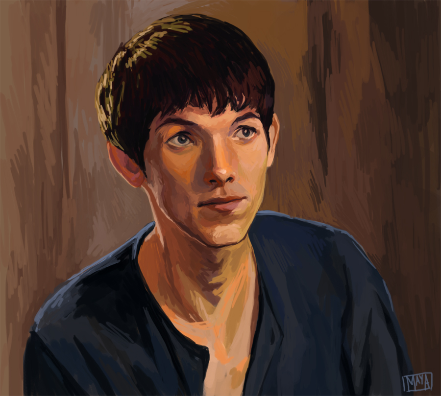 Merlin by Zannda