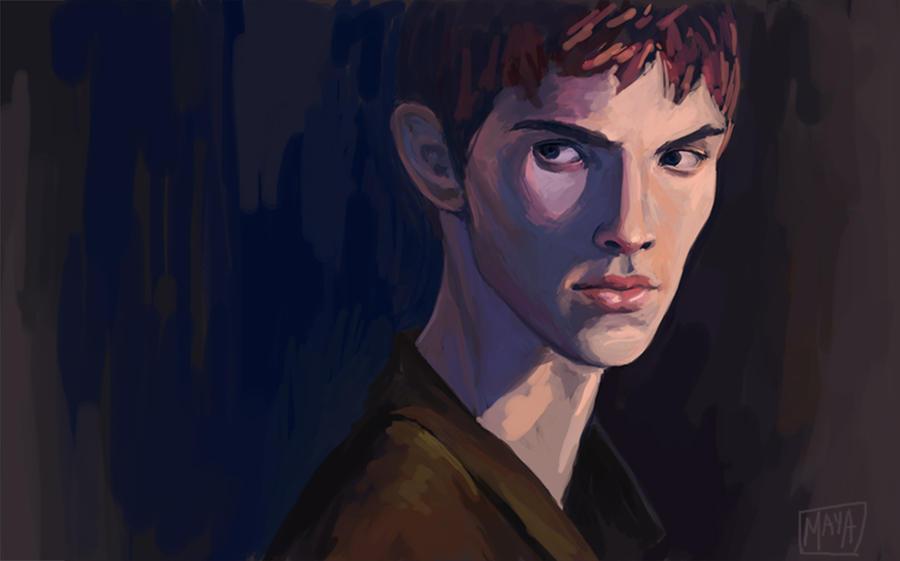 Merlin (blue) by Zannda
