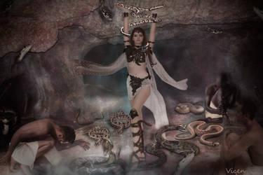 Snake Charmer - Encantadora de serpientes by Mvicen