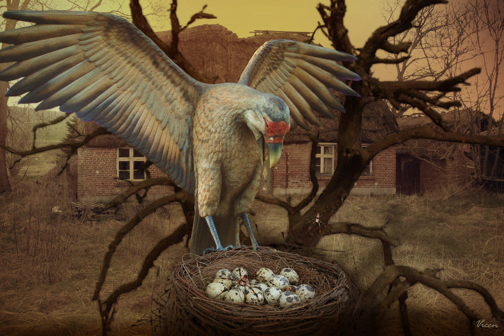 The nest*El nido by Mvicen