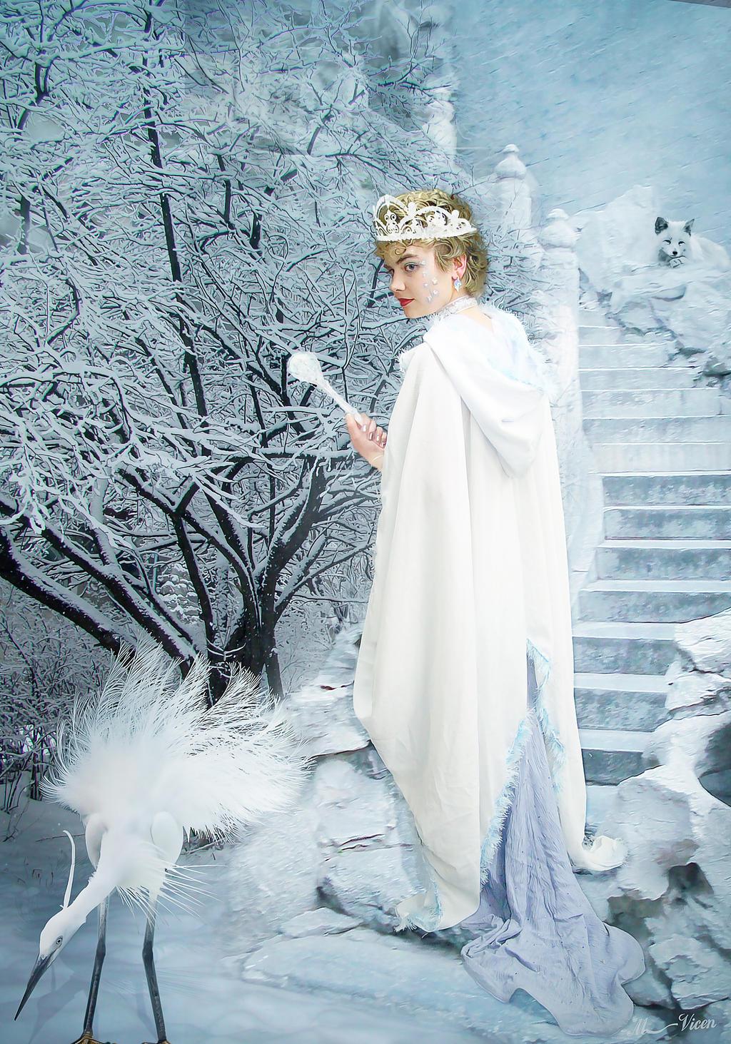 Snow Queen . Reina de las Nieves by Mvicen