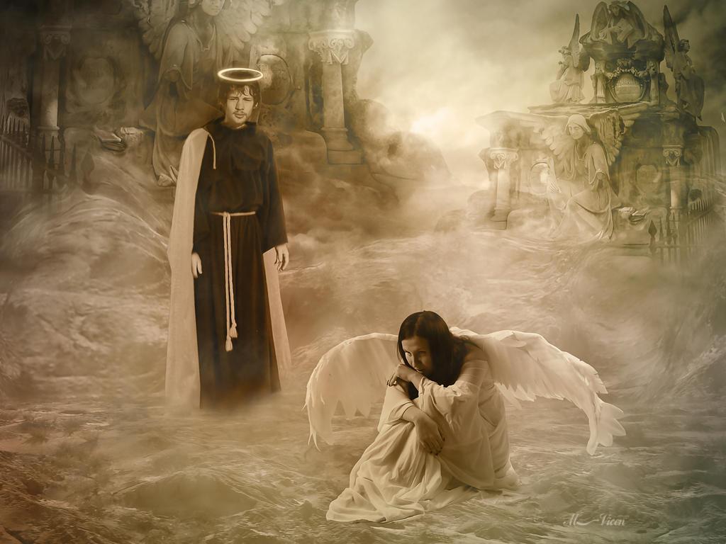 The tears of an angel -  El llanto de un angel by Mvicen