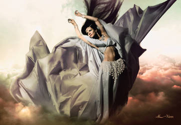 Wind dance-Danza del viento by Mvicen