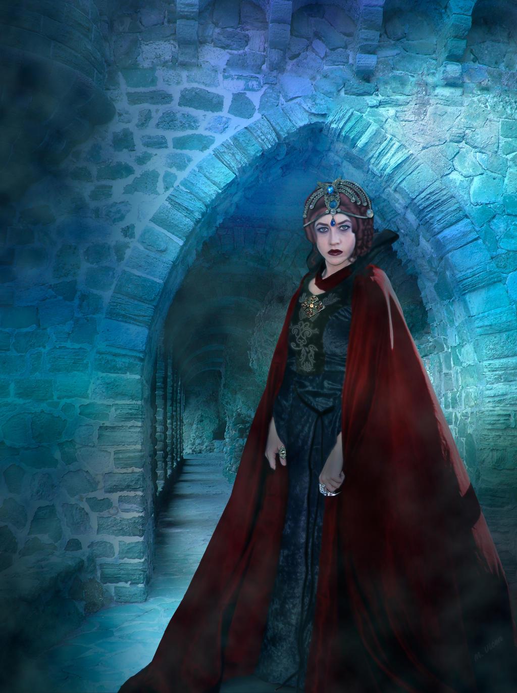 Evil Queen-Reina Malvada by Mvicen