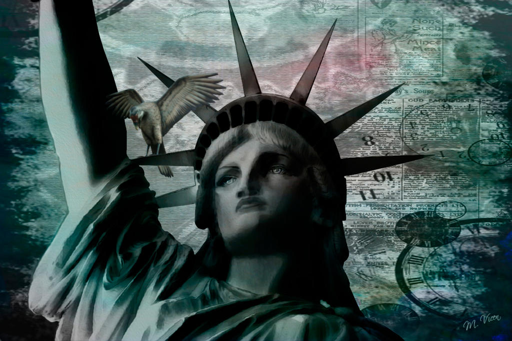 Sra. Libertad***  Mrs. Liberty by Mvicen