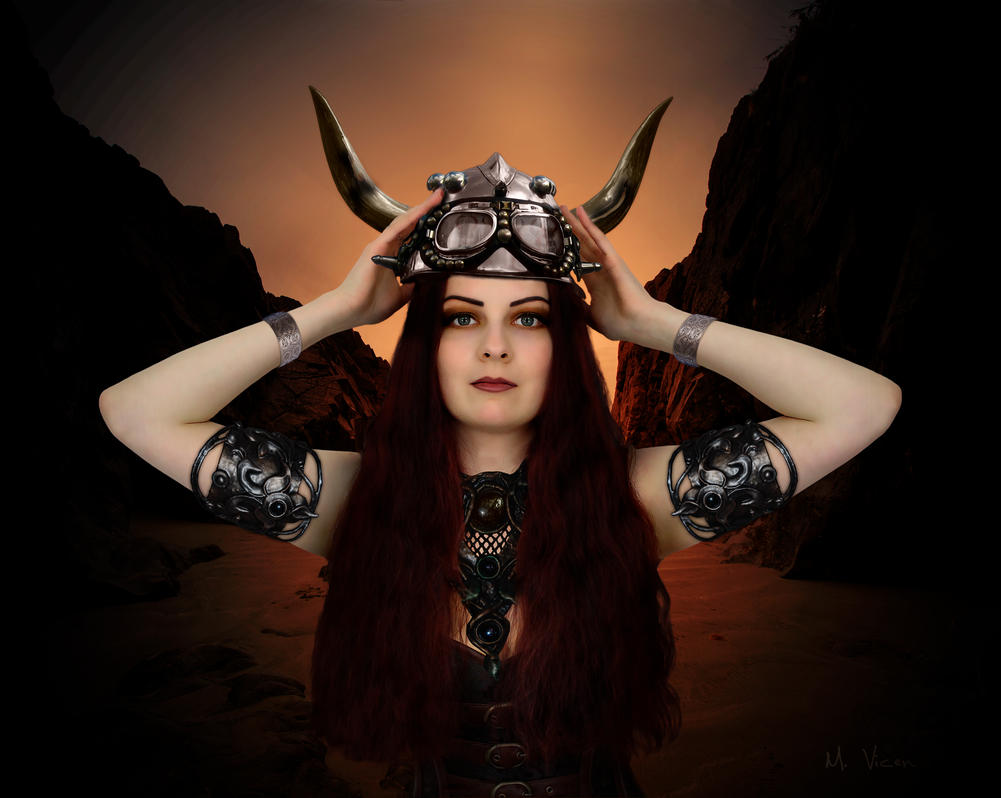 The viking-La vikinga by Mvicen