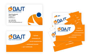 Business Cards for BAJT by neatgroup