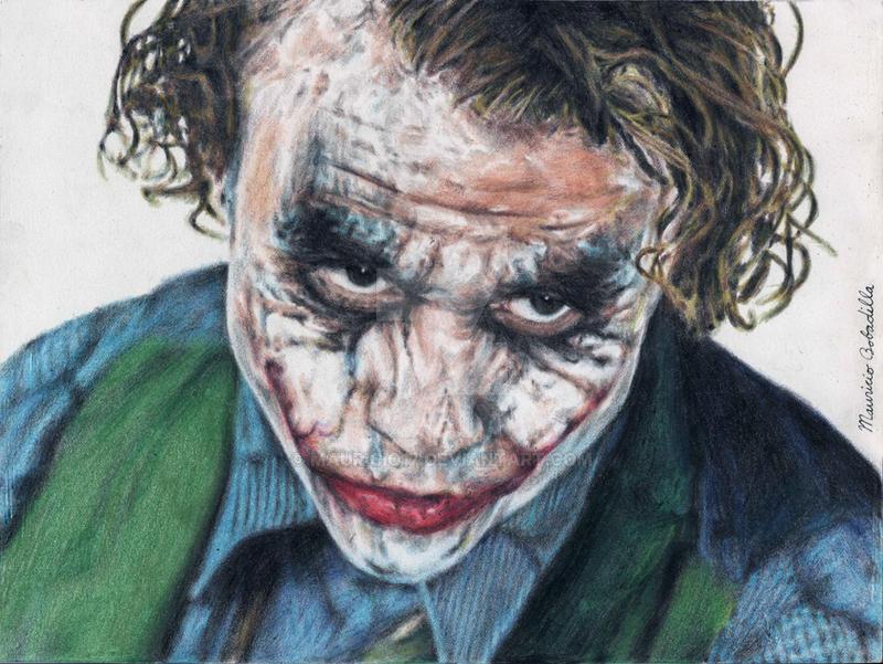 The Joker- Heath Ledger by mauricio17 on DeviantArt