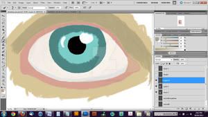 Detail Eye WIP - screenshot 3