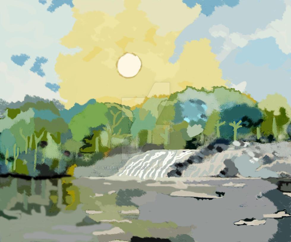 my digital rendition of Flot's d argent by STreasureGraphicArts