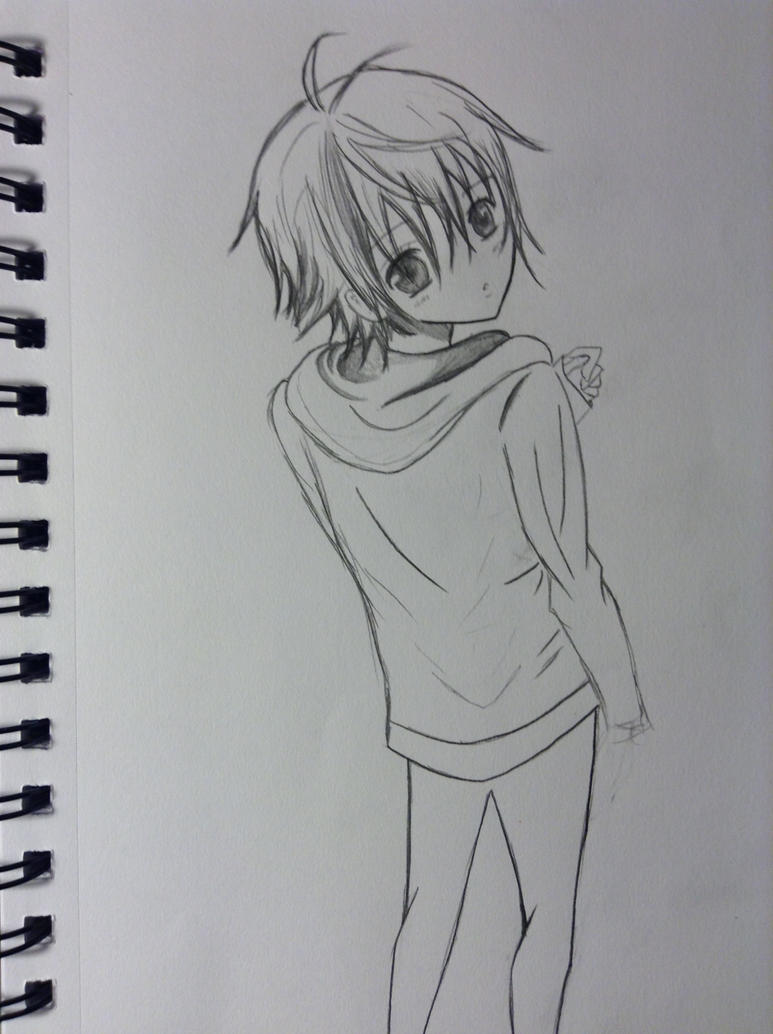 Anime boy by llamperouge3