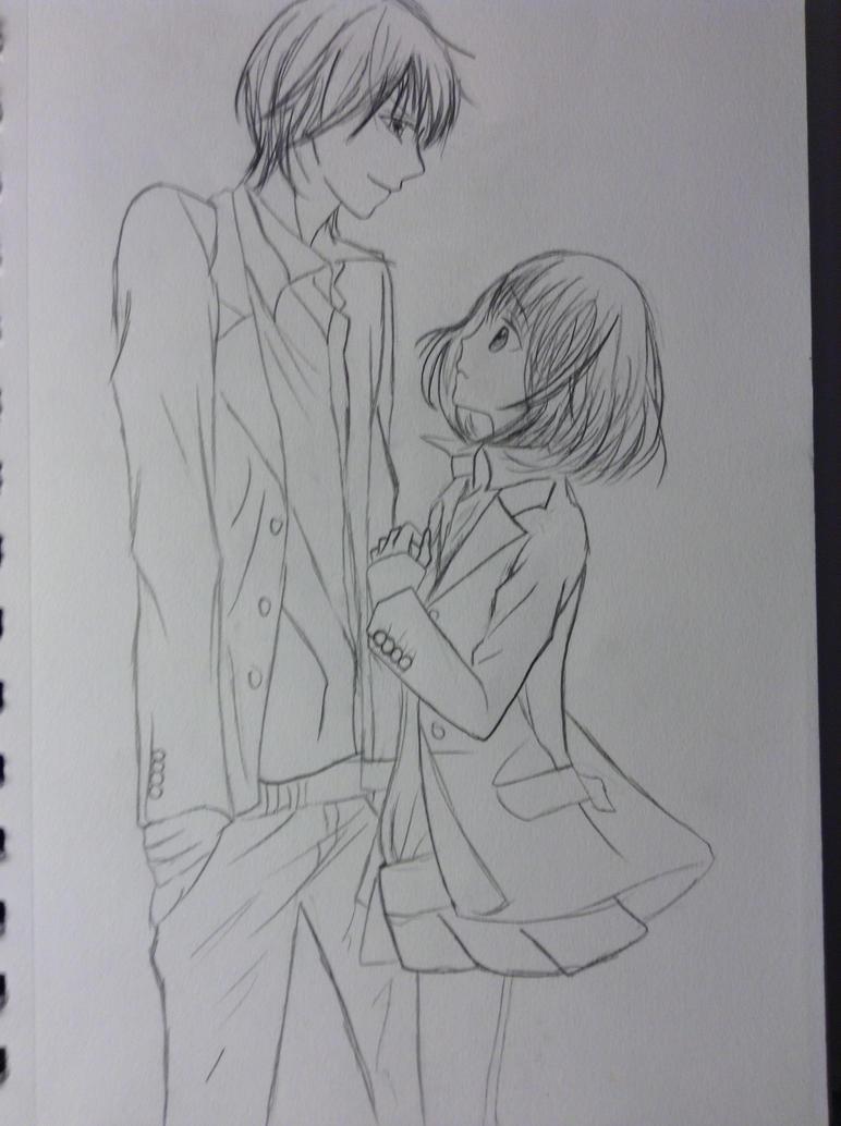 girfriend and boyfriend by llamperouge3