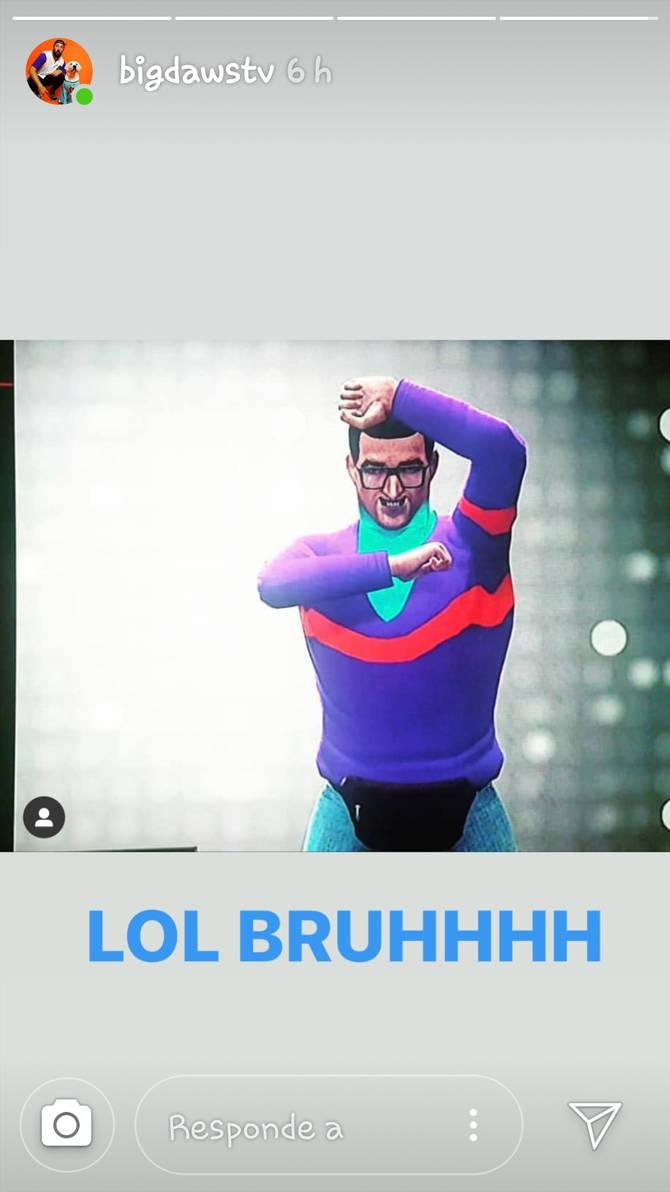 Ernie from BigDawsTv Instagram