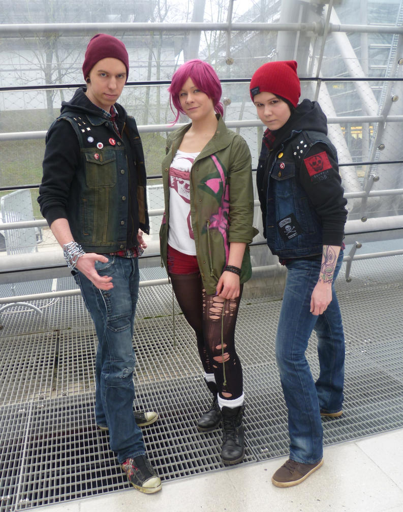 Do delsin and fetch hook up