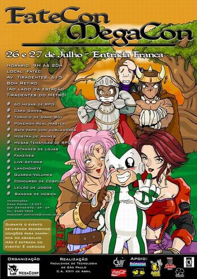 Nambazinho na MegaCon I by Keijn