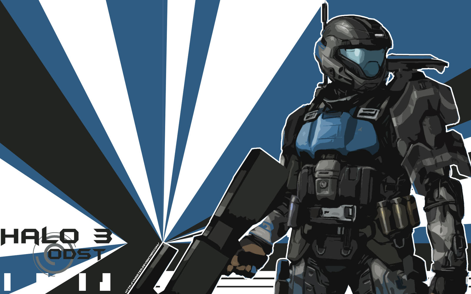 Halo 3 ODST Fan Art by Geocross on DeviantArt