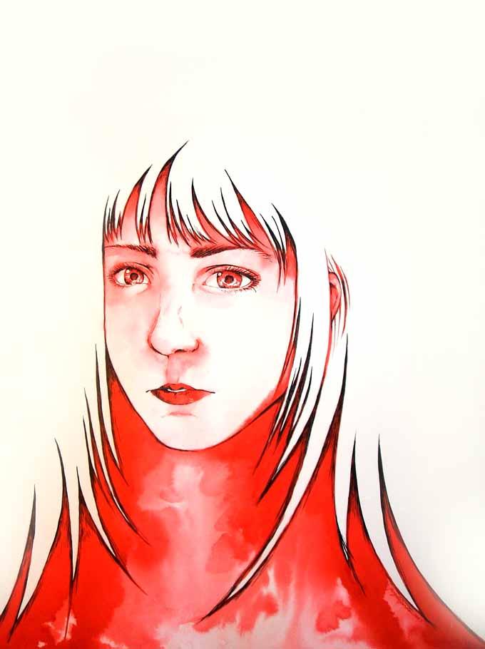 Red Lady by angelajordan