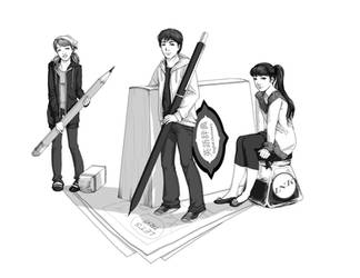 Manga Contest Poster by angelajordan