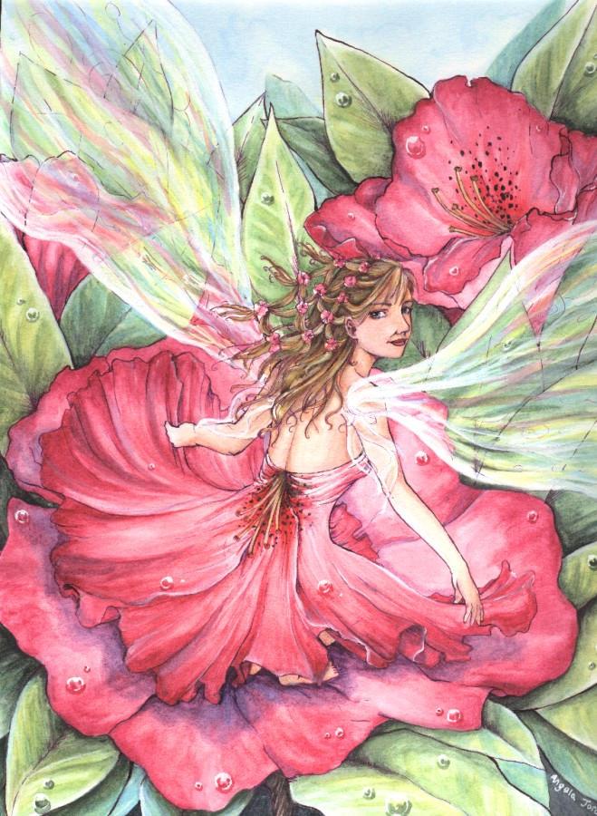 Flower fairy 2 by angelajordan on deviantart