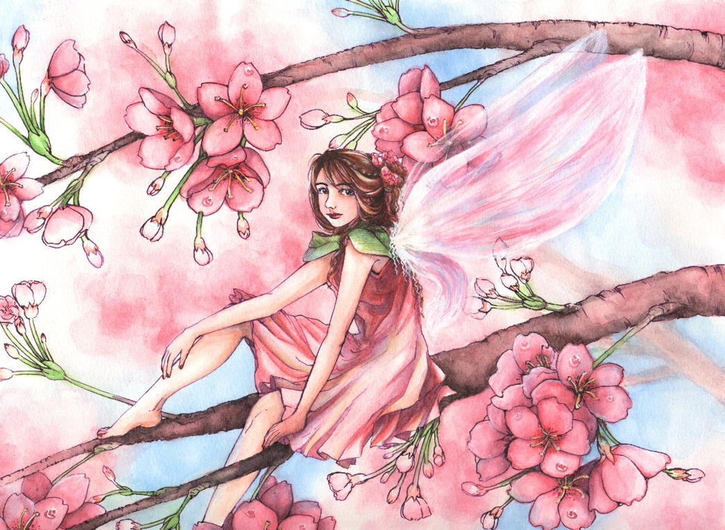 Flower Fairy 3 by angelajordan on DeviantArt