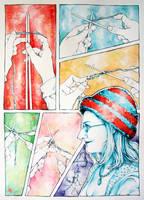 Knitting a Hat by angelajordan