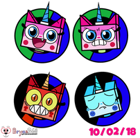 Custom PM HUD: Princess Unikitty  by BryanVelasquez87