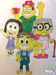The Green Family by BryanVelasquez87
