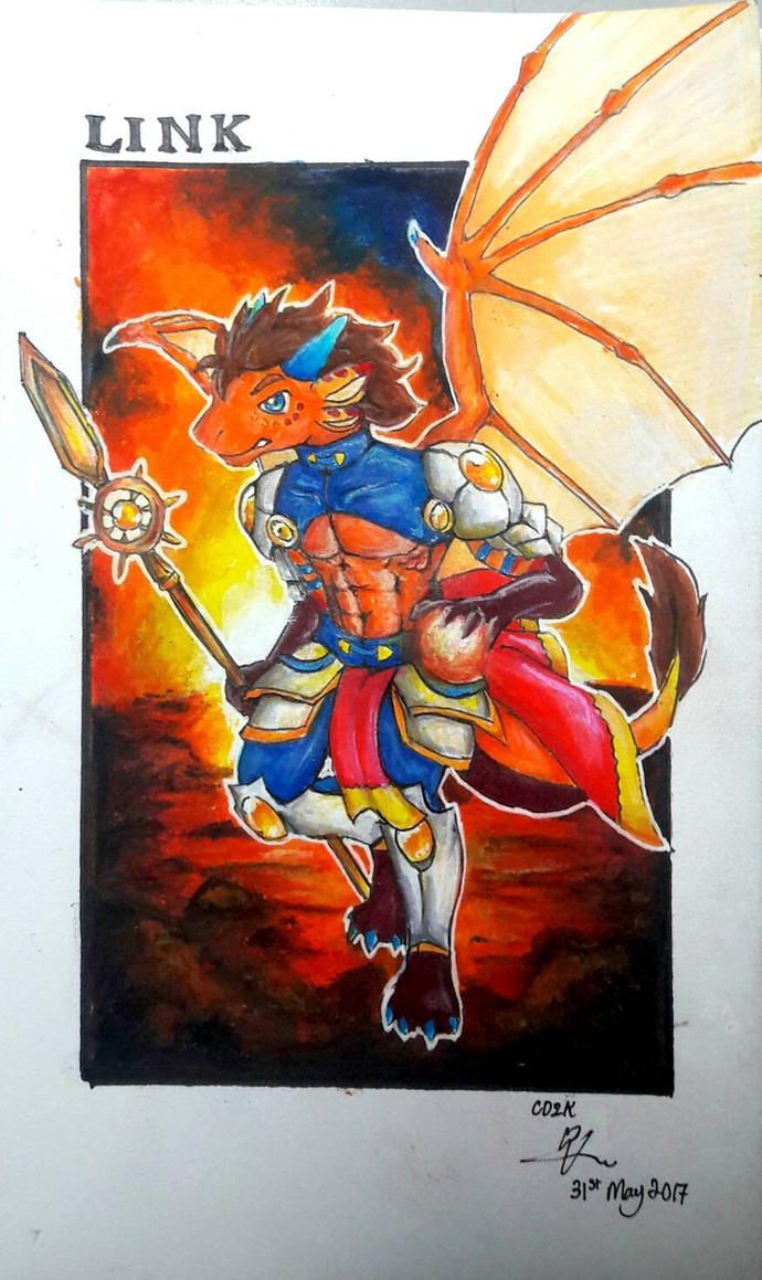 Link the Stellar Knight of Nova by CrazyDragon2000