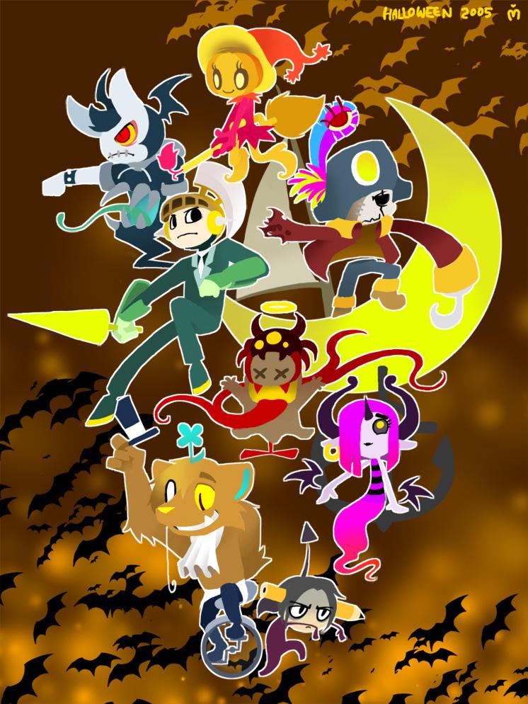Halloween Flight by GlassWind