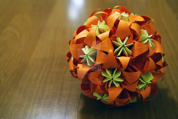 Kusudama 8 by happy96