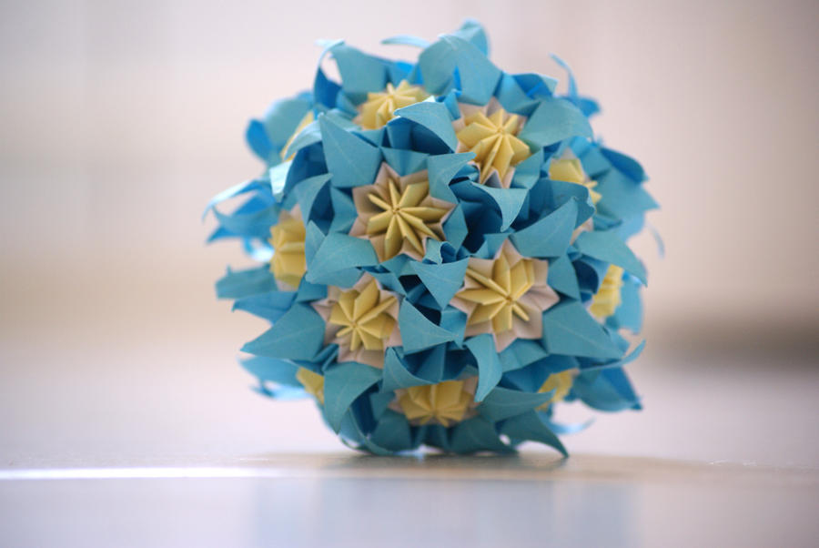 Kusudama 12 by happy96