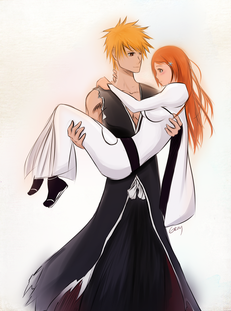 orihime loves ichigo essay Bleach analysis: the curious case of i'm not some rabid ichigo x orihime translated and sent it to kuboi love orihime ,she is my favourite female.