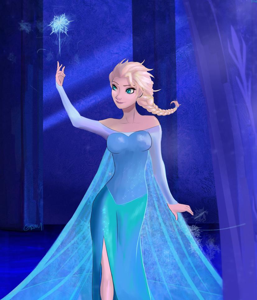 Let It Go By Ururuty On Deviantart: Elsa: Let It Go By Graya7 On DeviantArt