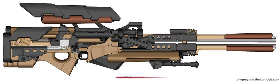 REQUEST: Donivinchi's Tesla Sniper V1 by KnightSlayer115