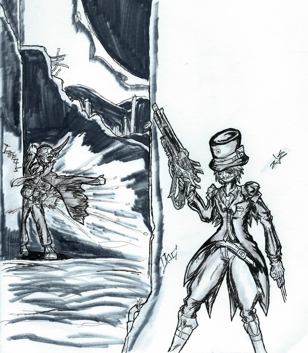 \Comm/OCBATTLE///Jaffas v Doc by KnightSlayer115