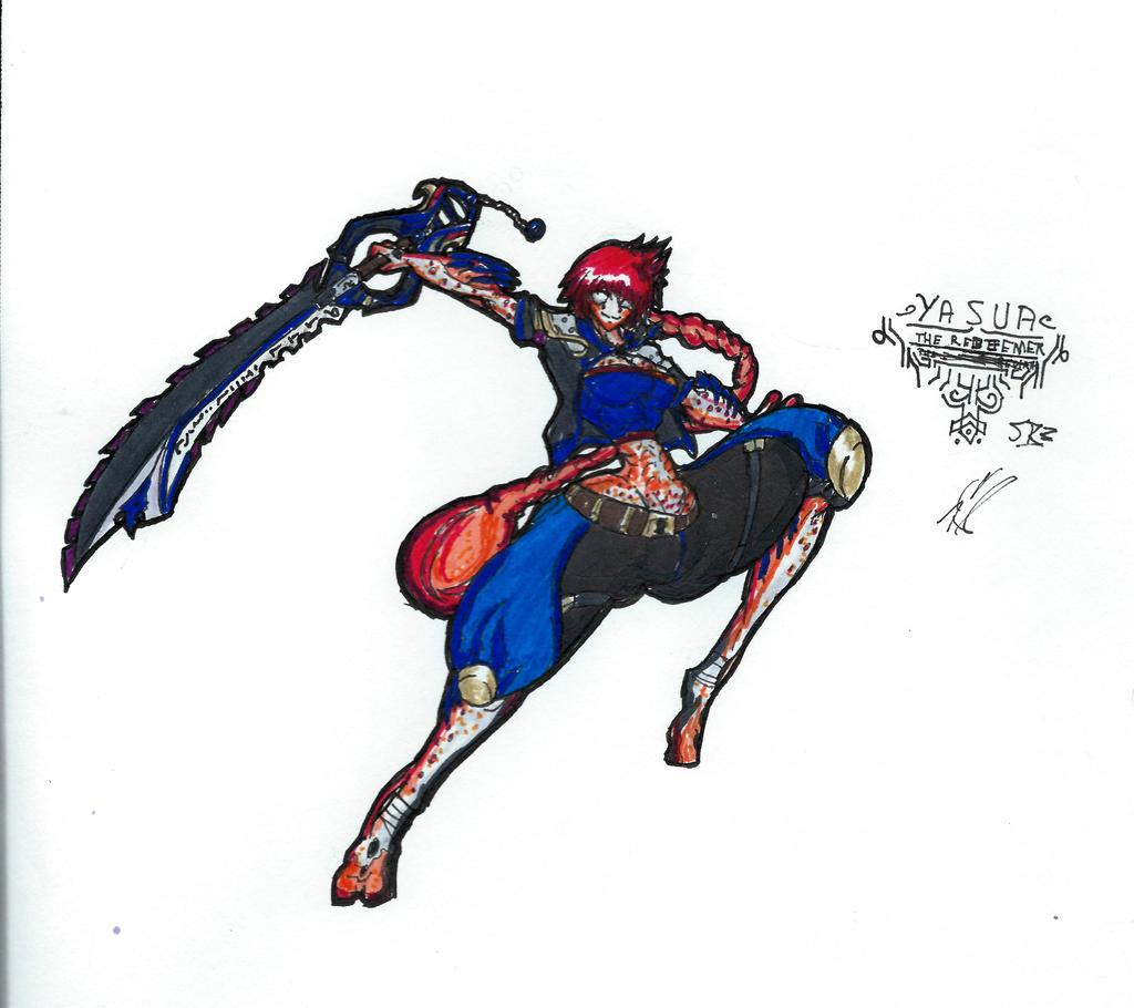 SoulBaneIII:ReBirth///Yasua, the Genesis Child by KnightSlayer115