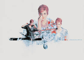 Christina Hendricks.......... by AshleyJoker