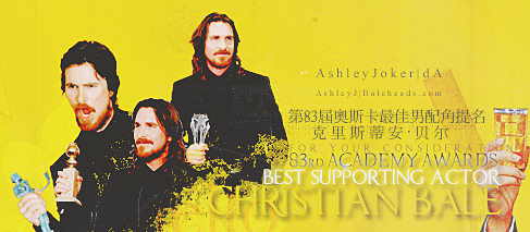 BEST SUPPRTING ACTOR by AshleyJoker