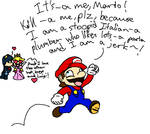 Mario in most fanfics