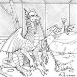 smaugust : Hywel and family