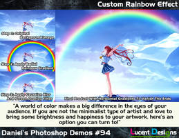 Photoshop Demos Resource #94 - Rainbow Tutorial